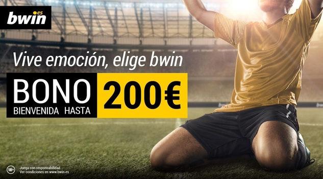 Bono de Bienvenida de 200 Euros - Bwin