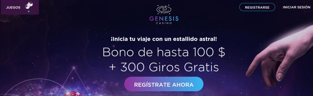 Bonos y promociones en Génesis Casino