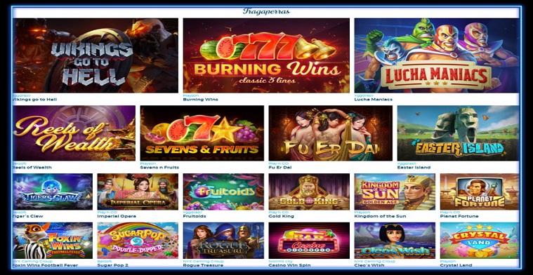 Juegos de casino en Génesis casino