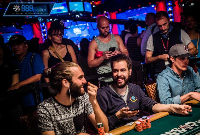 Juegos de póker en 888 España