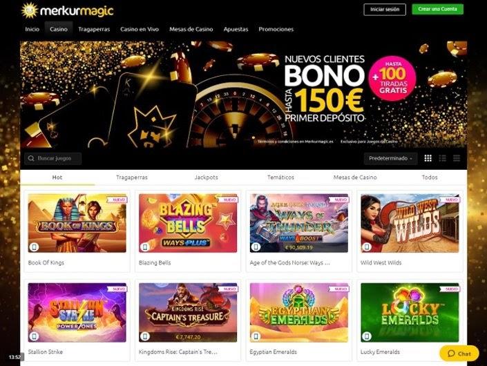 Merkur Magic Casino Bono de 150 Euros