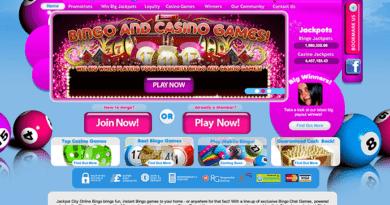 Online bingo- Jackpot city