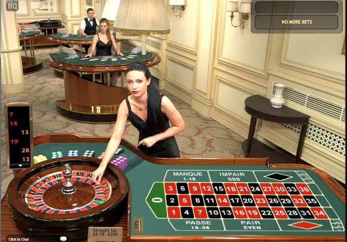 Proveedores de juegos de casino con crupier en directo