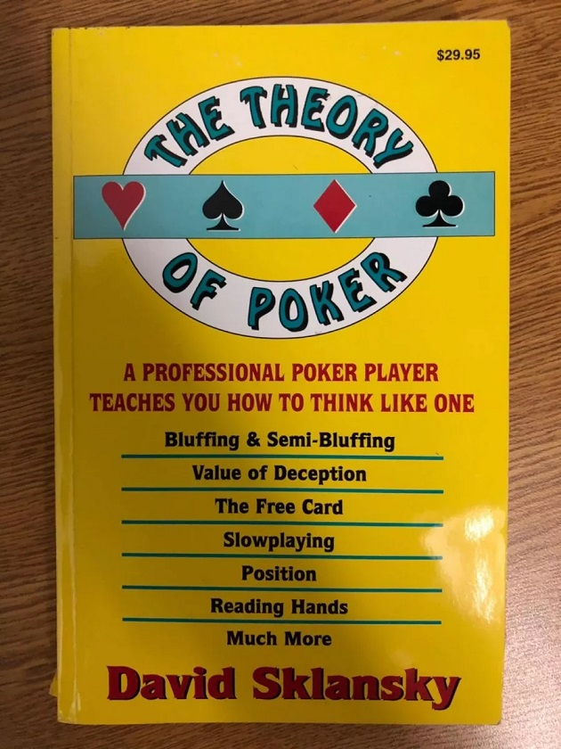 3 Libros de Casinos - The theory of Poker